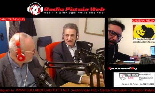 INTERVISTA DI RADIO PISTOIA WEB PER FESTIVAL DEL GIALLO