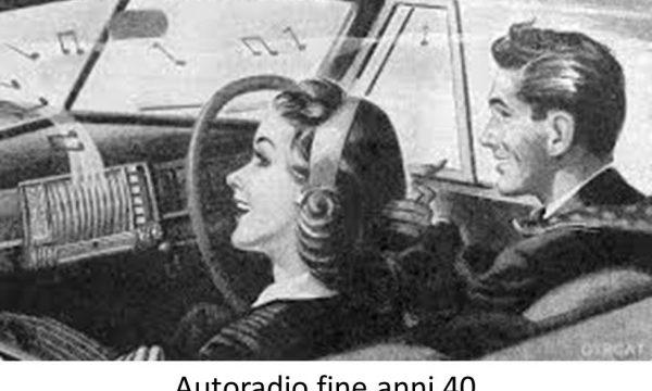 LA RADIO NELLE AUTOMOBILI