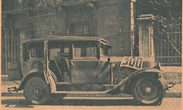 """NELLA PRIMAVERA DEL 1931 IL RADIO AUTO RADUNO PASSO' PER LA """"TOSCANA BELLA""""."""