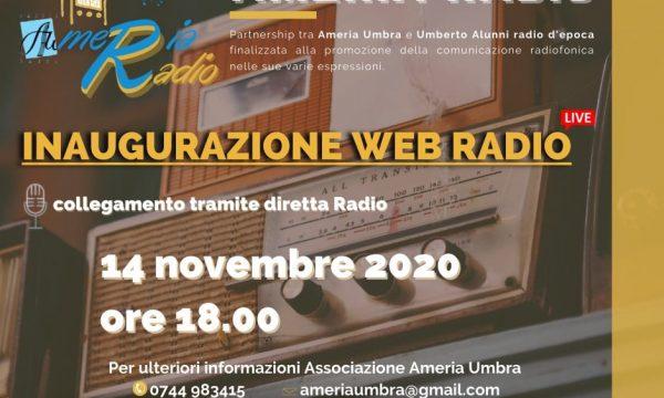 INAUGURAZIONE WEB RADIO AMERIA RADIO
