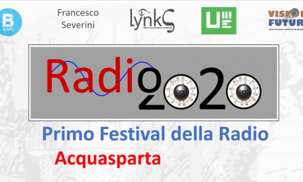 FESTIVAL RADIO2020 AD ACQUASPARTA: PRESENTAZIONE PROGETTO SU RADIOAMERIA