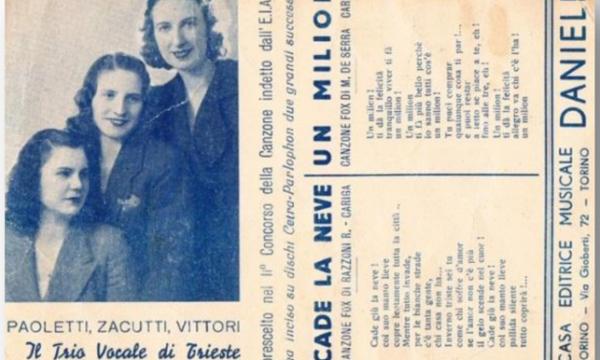 MUSICANDO: ALTRI GRUPPI ITALIANI – QUARTA PUNTATA – IL TRIO VOCALE TRIESTINO